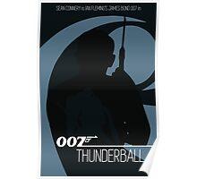 James Bond - Thunderball Poster