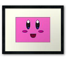 Kirby simplicity Framed Print