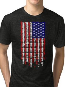 Greed Flag Tri-blend T-Shirt