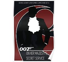 James Bond - On Her Majesty's Secret Service Poster
