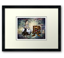 Aluminum Bacon Framed Print