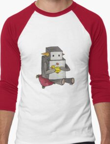 Boop the Robot: My Little Friend Men's Baseball ¾ T-Shirt