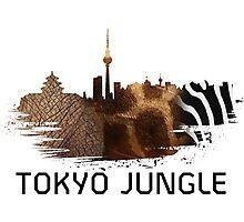 Tokyo Jungle Photographic Print