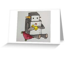 Boop the Robot: My Little Friend Greeting Card