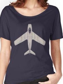 Mikoyan MiG-15 Women's Relaxed Fit T-Shirt