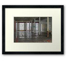 Garage IV Framed Print