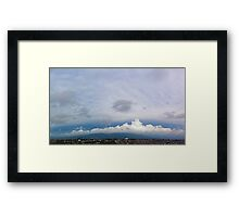 ©HCS Clouds Over The Hill Framed Print