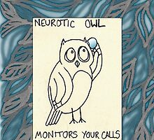 Monitors Your Calls by neuroticowl