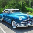 Blue 1951 Pontiac by Susan Savad