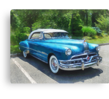 Blue 1951 Pontiac Canvas Print