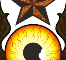 Flying Eye Star Sticker
