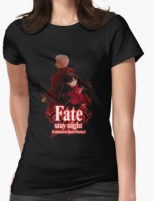Fate stay night unlimited blade works Womens Fitted T-Shirt
