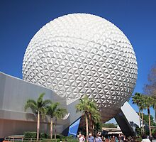 Spaceship Earth in Daylight by David Lamb