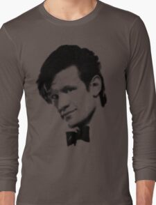 11th Doctor Retro Style Long Sleeve T-Shirt