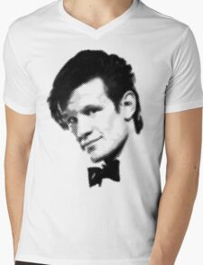 11th Doctor Retro Style Mens V-Neck T-Shirt