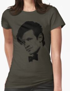 11th Doctor Retro Style Womens Fitted T-Shirt