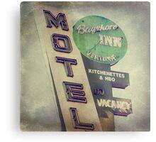 Bayshore Motel Metal Print