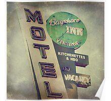 Bayshore Motel Poster