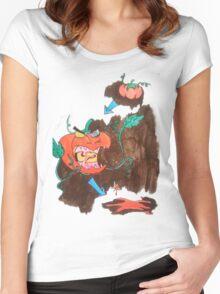 Killer Tomato Evolution Women's Fitted Scoop T-Shirt