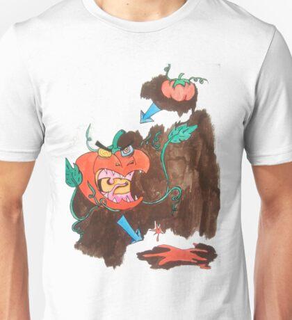 Killer Tomato Evolution Unisex T-Shirt