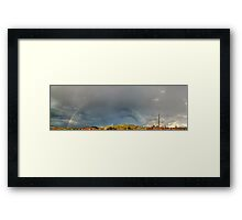©HCS The Raimbow In Pano Framed Print