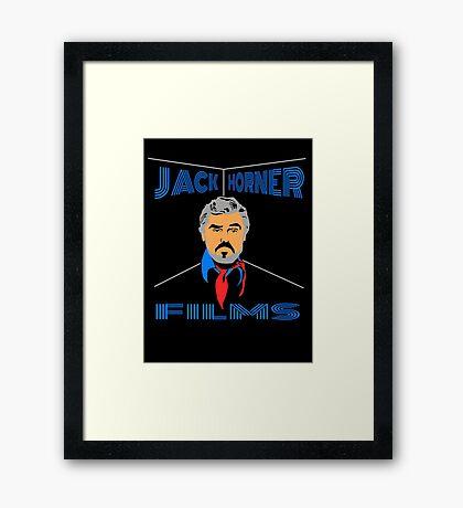 Jack Horner Films Logo Framed Print