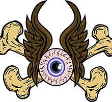 Flying Eye Bones by Toxico13