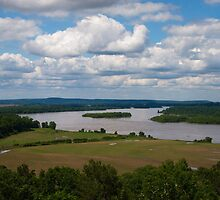 Arkansas River View by Lisa G. Putman