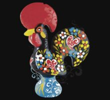 Famous Rooster #01 - Floral Edition Kids Tee