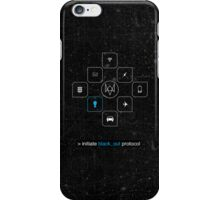 Black_out Protocol iPhone Case/Skin