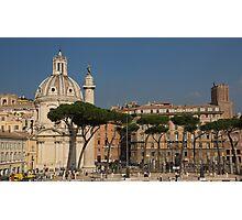 Rome - Umbrella Pines and Sunshine  Photographic Print