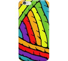 rainbow yarn iPhone Case/Skin