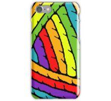 rainbow yarn iPhone Case/Skin