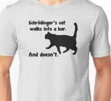 Schrodinger's Bar Joke Unisex T-Shirt