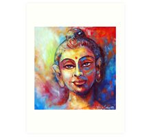 Enlightened Buddha Art Print
