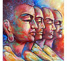 Buddha and the Followers Photographic Print