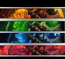 Spirit Guard Udyr iPhone Case by tychilcote