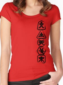 Samurai Stack Women's Fitted Scoop T-Shirt