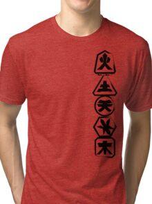 Samurai Stack Tri-blend T-Shirt