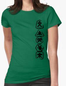 Samurai Stack Womens Fitted T-Shirt