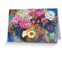 Flower vase 3 Greeting Card