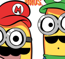 Super Minion Bros. Sticker