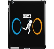 Portal Toilet iPad Case/Skin