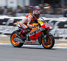 Marc Marquez at laguna seca 2013 by corsefoto