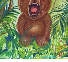 Domenico roaring bear by Monica Batiste