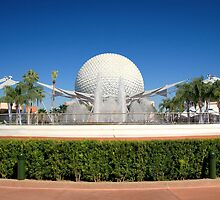 Spaceship Earth Landscape by David Lamb