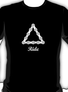 Ride / Chain / Solid T-Shirt