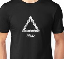 Ride / Chain / Solid Unisex T-Shirt
