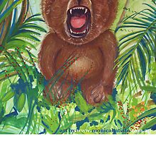 Otto roaring bear by Monica Batiste