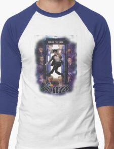 The Doctors Who Men's Baseball ¾ T-Shirt